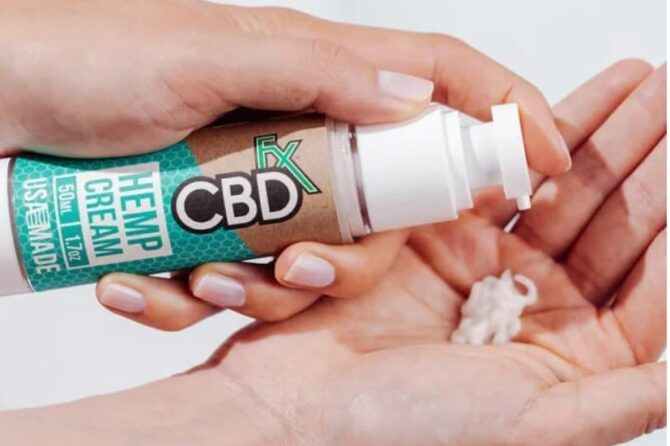 CBD products for hands